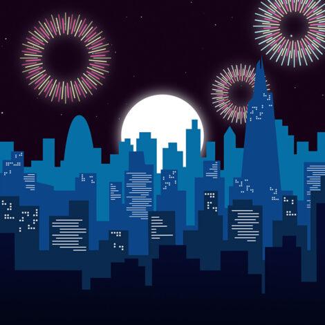 FireworksFromTheTower