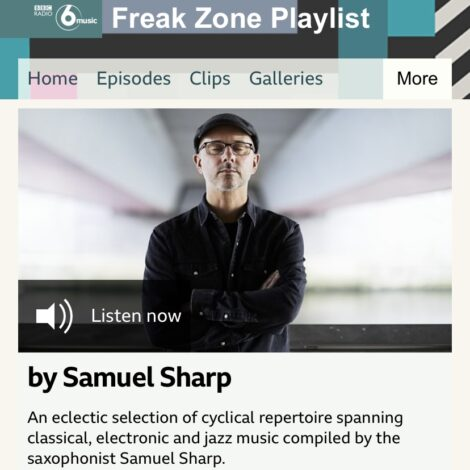 Samuel Sharp On BBC 6 Music